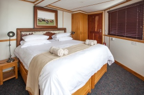 Bedroom on the Boat